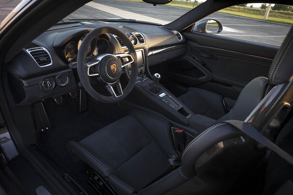 Dealer Inventory Porsche Cayman Gt4 In Agate Grey Metallic