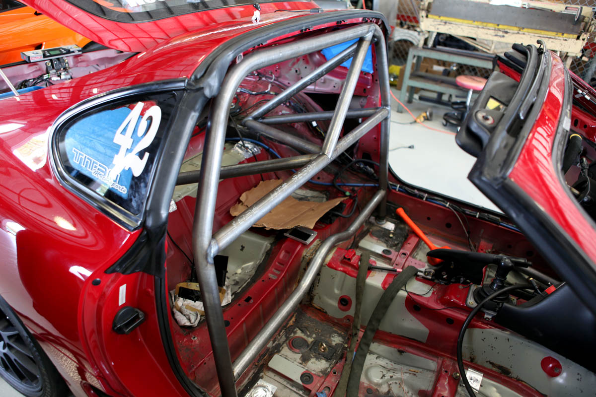Grand Am Spec Roll Cage Install In My Supra