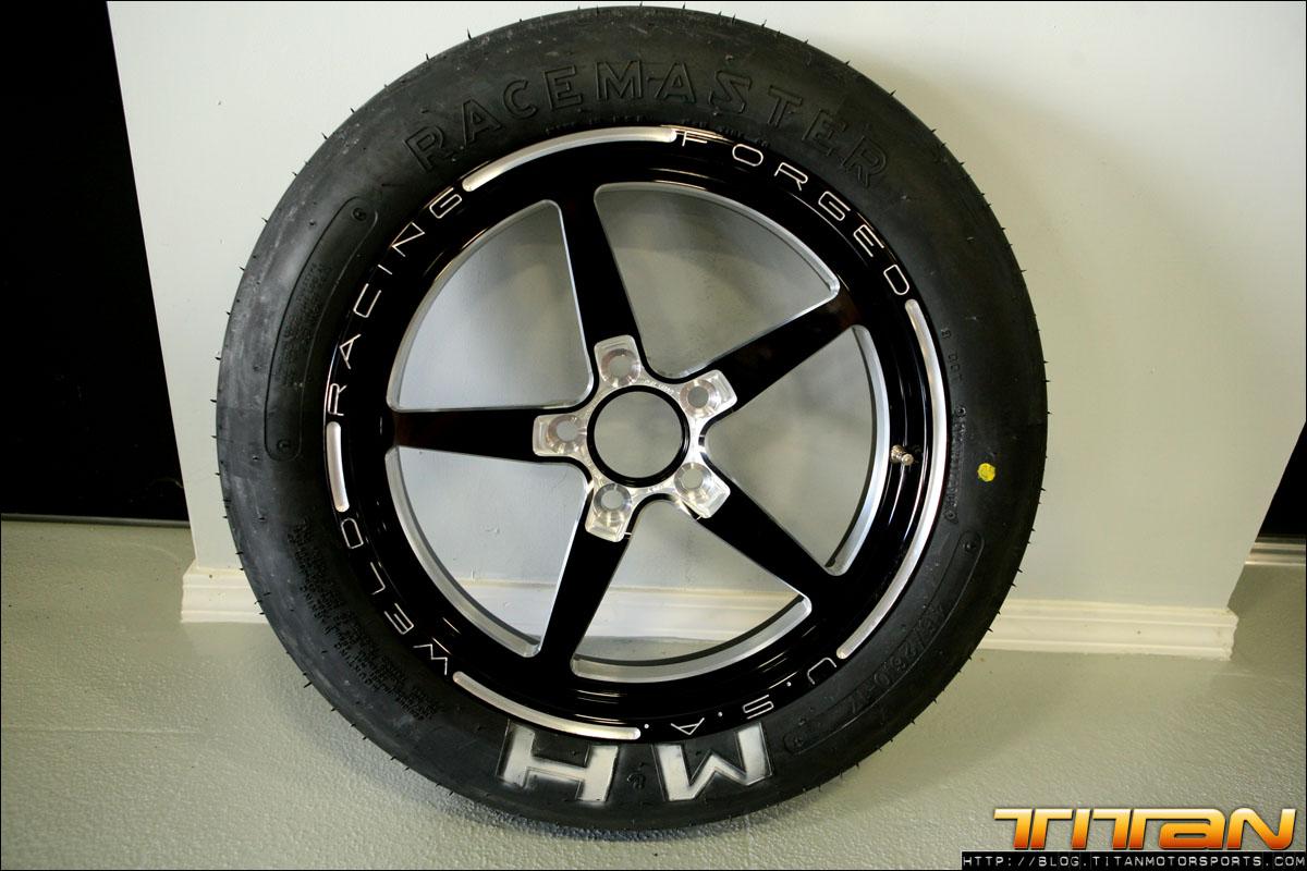 Weld Aluma Star 20 Forged Wheel