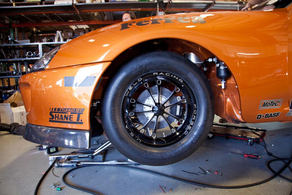 Toyota Supra Top View >> Titan Motorsports Copper Supra rebuild for 2012 - going ...