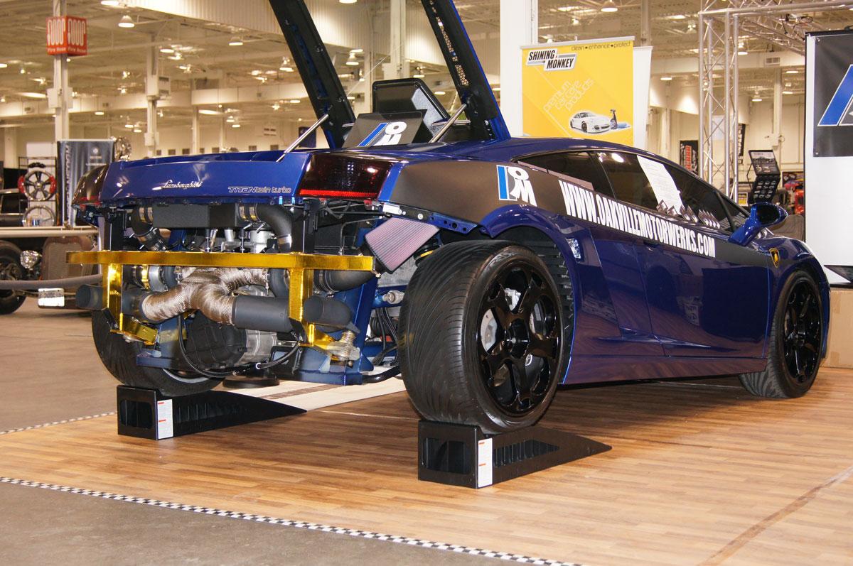 titan motorsports lamborghini gallardo twin turbo installation by oakville motorwerks. Black Bedroom Furniture Sets. Home Design Ideas