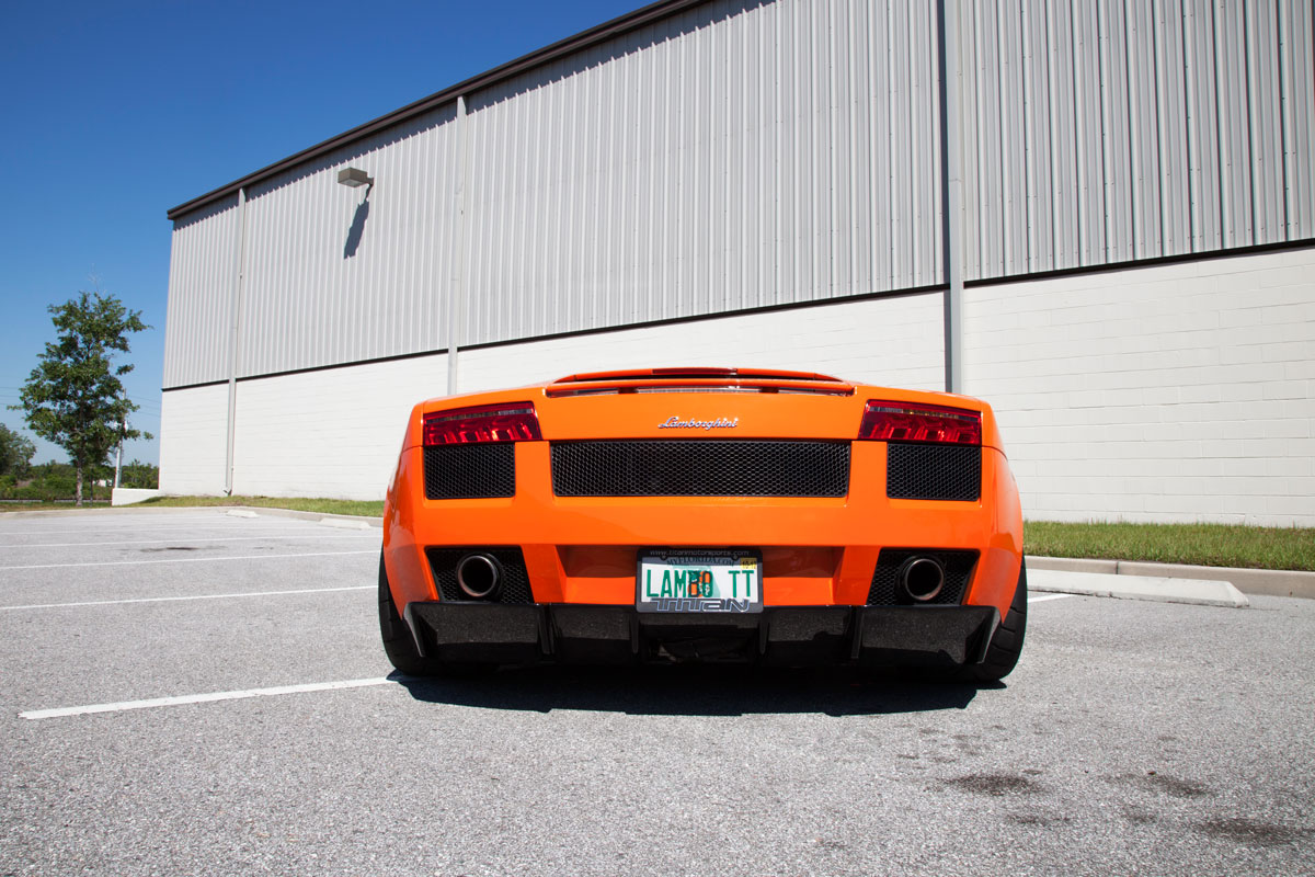 Titan Motorsports Lp570 Tail Light Conversion For Your Gallardo